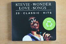 Stevie Wonder  ‎– Love Songs - 20 Classics Hits    (Box C293)