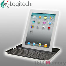 GENUINE Logitech Bluetooth Keyboard Case by ZAGG for Apple iPad 2 3 4 Retina