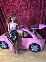 ❤ Vintage Mattel 2000 Volkswagen Beatle & Doll Collector Skirt Tag BD26