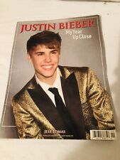 Justin Bieber Rock Singer My Year Up Close Tribute 2011 Concert Book
