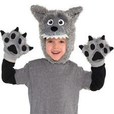 HALLOWEEN WOLF CHILD COSTUME ACCESSORY KIT (3pc) ~ Birthday Party Supplies Boy