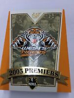 Select 2005 Wests Tigers NRL Premiership Commemorative Card Set (22)