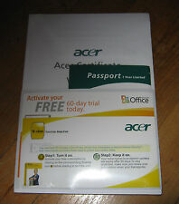 Acer Aspire 5520 5220 Laptop Notebook Computer User's Guide Manual