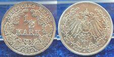 silberprobe 1/2 MARCHI 1914 J in doppio spessore, riffelrand, 4,47g QUASI ST