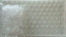100 Rollrandgläser mit Schnappdeckel, Inhalt 20 ml, Schnappdeckelgläser, Neu