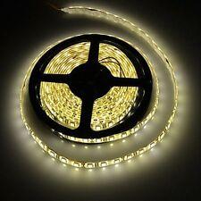 5m 5050 Warm White 300 LED Light Waterproof Flexible Strip 12v Lighting Party UK