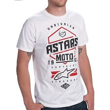 ALPINESTARS HEXLOCK T-SHIRT White MENS S - XXL  NEW