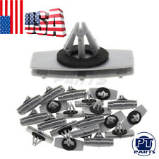 20pcs Gray Clips Fender Flare Mudguard Retainer For Jeep Wrangler fits 9mm Hole