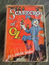 antique 1915 The SCARECROW OF OZ BOOK L. Frank Baum REILLY & LEE