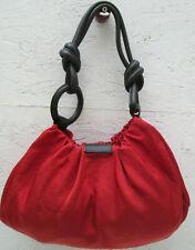 -Authentique sac à main SEQUOIA en toile et cuir vintage bag