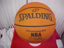 Official Spalding NBA Orlando Magic Game Used Basketball 2007-08 David J. Stern