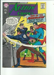 Action Comics #356(Nov 1967-DC)VF Beautiful 1 owner book. Neal Adams cover art.