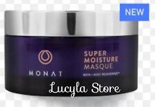 MONAT Super Moisture MASQUE Mask Hair Full Size 4.5 oz USA 100% Vegan