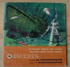 Océanographie (l')- la grande énigme des océans - Album chromos chocolat Jacques