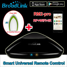 BroadLink A1 WiFi Intelligent Smart Home Air Detector Purifier+Remote Controller