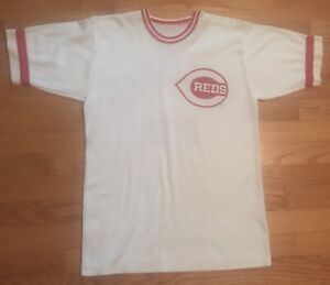 Vintage Rare 1970s Cincinnati Reds Jersey Shirt