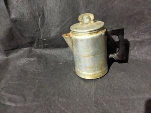 Vtg COMET Aluminum Percolator Coffee pot Stove Top Camping Metal Retro