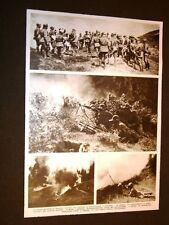 Manovre militari a Bolzano nel 1935 Mitragliatrici lanciafiamme nebbiogeno bomba