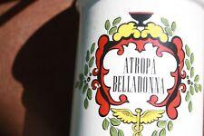 Vintage Pharmacy Lamp, Atropa Belladonna, & U.S Public Health Service 1798 on ot