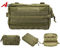 1000D Molle Multi-functional Utility Waist Pouch Bag Tactical Outdoor Army Khaki