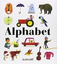 Alphabet by Alain Gree Book The Cheap Fast Free Post