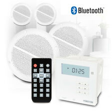 More details for bluetooth speaker and amplifier music system kitchen bathroom ceiling install