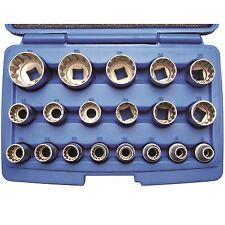 BGS Gearlock Steckschlüssel Satz Außen Torx 19 tlg Nußkasten Set Zoll Werkzeug