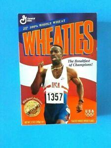 WHEATIES 96 OLYMPICS GOLD MEDAL WINNER MICHAEL JOHNSON