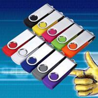 10 PACK 64MB USB 2.0 Flash Memory Stick Storage Drive U Disk Gift Wholesale Fold