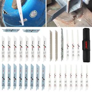 32Pcs Reciprocating Saw Blade Set Sabre Saw Combo Wood Makita Ryobi Hitachi UK