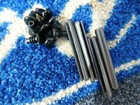 4 X FIESTA MK1 HINGE PIN  AND 8  HINGE PIN CAPS SUPERSPORT XR2 ALL MODELS