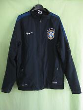 best cheap 5d34e 1f4a7 Veste Nike Bresil Marine CBF Brasil Football Vintage Jacket Shirt - XL