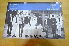 SuperJunior - Magic [Special album Part.2]  *Official POSTER* KPOP