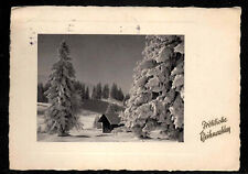 D202# vieja ak! feliz Navidad, Hamburgo, de 23.12.1955