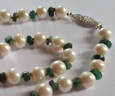 Emerald Fine Pearl Necklaces & Pendants