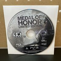 Medal of Honor (PlayStation 3, PS3) Disc Only, Tested