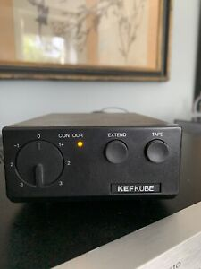 Kef Kube 102 Boxed with Instructions and cables.