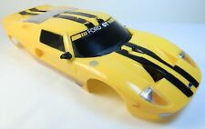 Ford GT Plastic Body Yellow Drift Scale RC Project Wreck Fast Ship