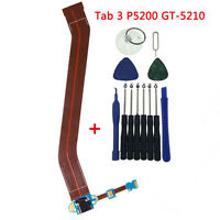 Charging Port Flex For Samsung Galaxy Tab 3 10.1 USB GT-P5200 GT-5210 tools