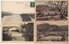 Lot 4 cartes postales anciennes DRÔME NYONS 1