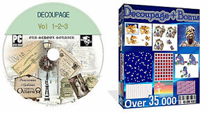 Decoupage + Card Verses + Card Making + Scrapbooking Over 40 000 Items On 1 DVD