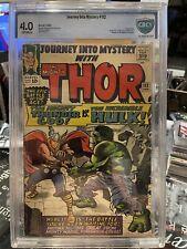 JOURNEY INTO MYSTERY # 112 - CBCS 4.0 Class Thor vs. Hulk battle Not CGC