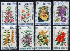 Indonesia 1965/6 - Flowers (8) MUH