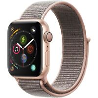Apple Watch Gen 4 Series 4 40mm Gold Aluminum - Pink Sand Sport Loop MU692LL/A