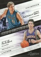 2012-13 Prestige Connections #17 Steve Nash/Dirk Nowitzki - NM-MT