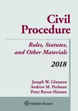 Civil Procedure: Rules, Statutes, and Other Materials,. by Raven-Hansen, Peter
