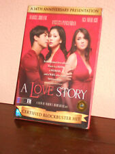 "DVD  ORIGINALE  ""A LOVE STORY"".IN LINGUA INGLESE"