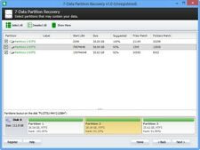 7-Data Partition Recovery Complete Partition recovery EXFAT, NTFS5, NTFS, FAT32