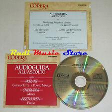 CD MOZART CHERUBINI BEETHOVEN Audioguida all'ascolto COSI FAN TUTTE lp mc dvd