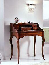 SCRIVANIA-SCRITTOIO IN PIOPPO 6 CASSETTI+PIANO ESTRAIBIL COL.NOCExCAMERETTA 3107